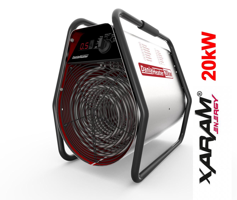 Nagrzewnica elektryczna XARAM Energy / Dania sh