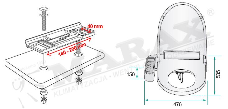 Montaż elektronicznej deski bdetowej