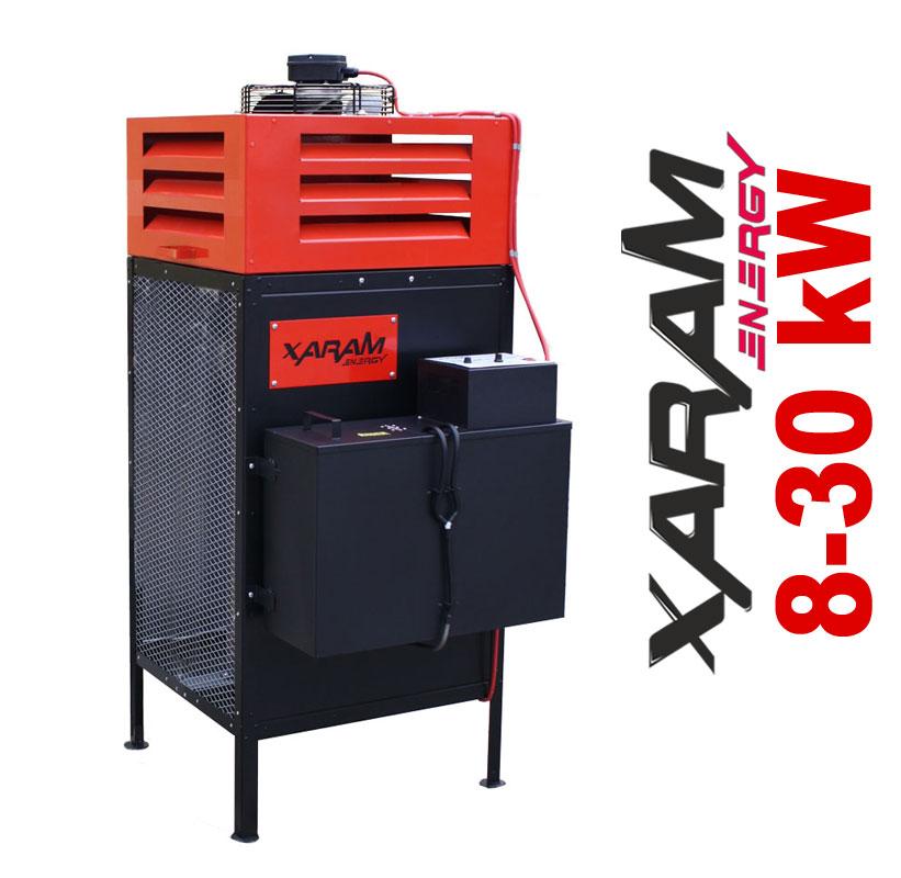 XARAM ENERGY XE 8-30 nagrzewnica na olej przepracowany