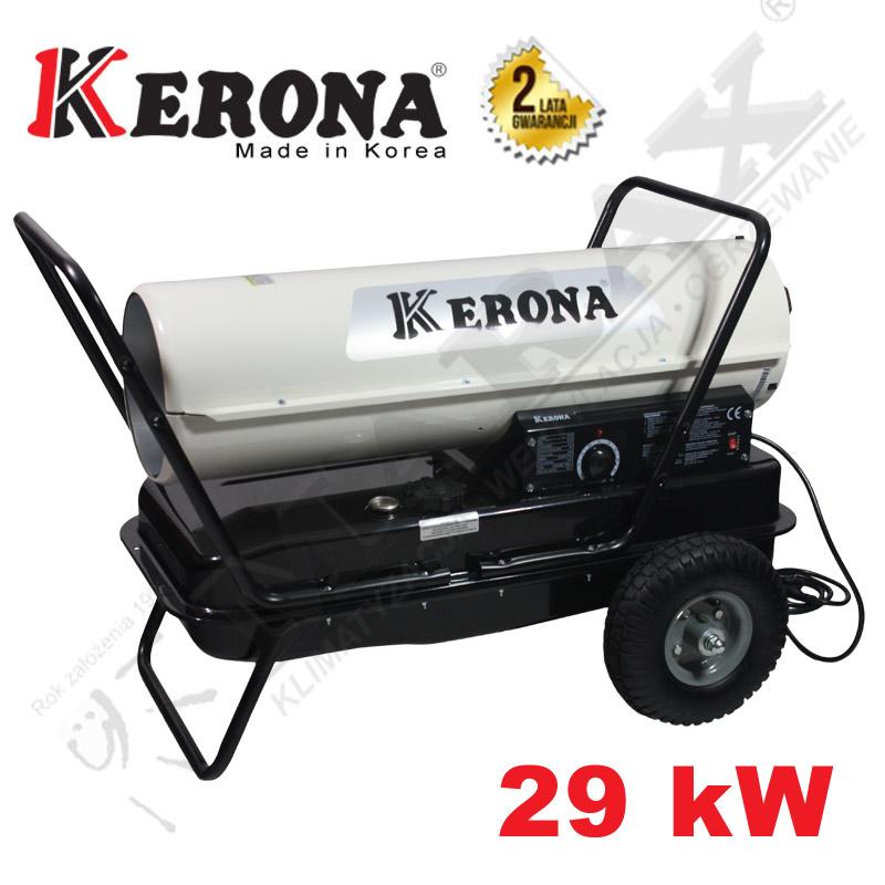 Nagrzewnica olejowa KERONA ECONOMIC EF 125