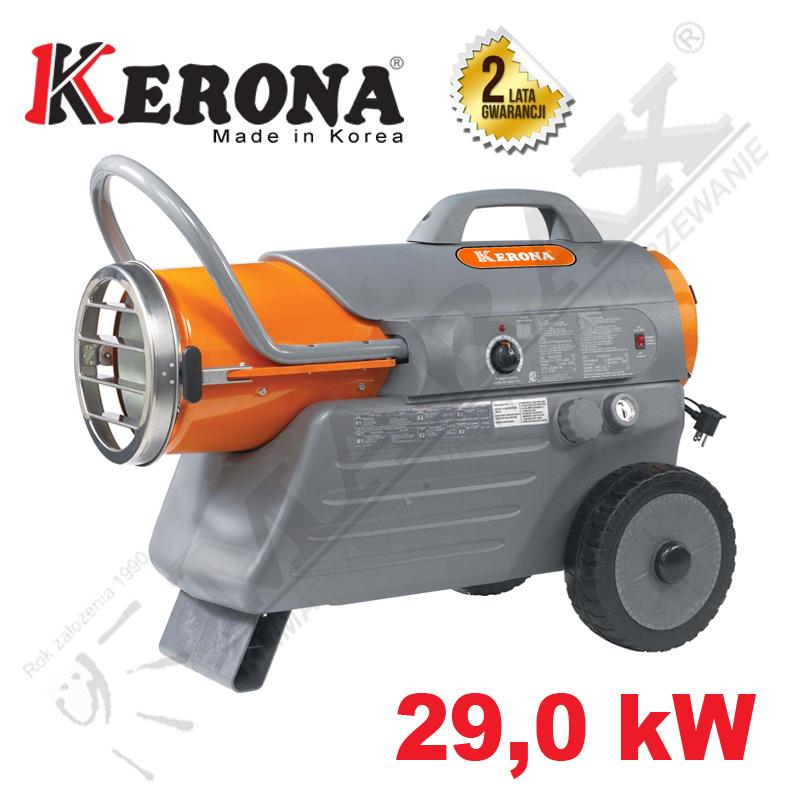 Nagrzewnica olejowa KERONA KFA 125 tdgp